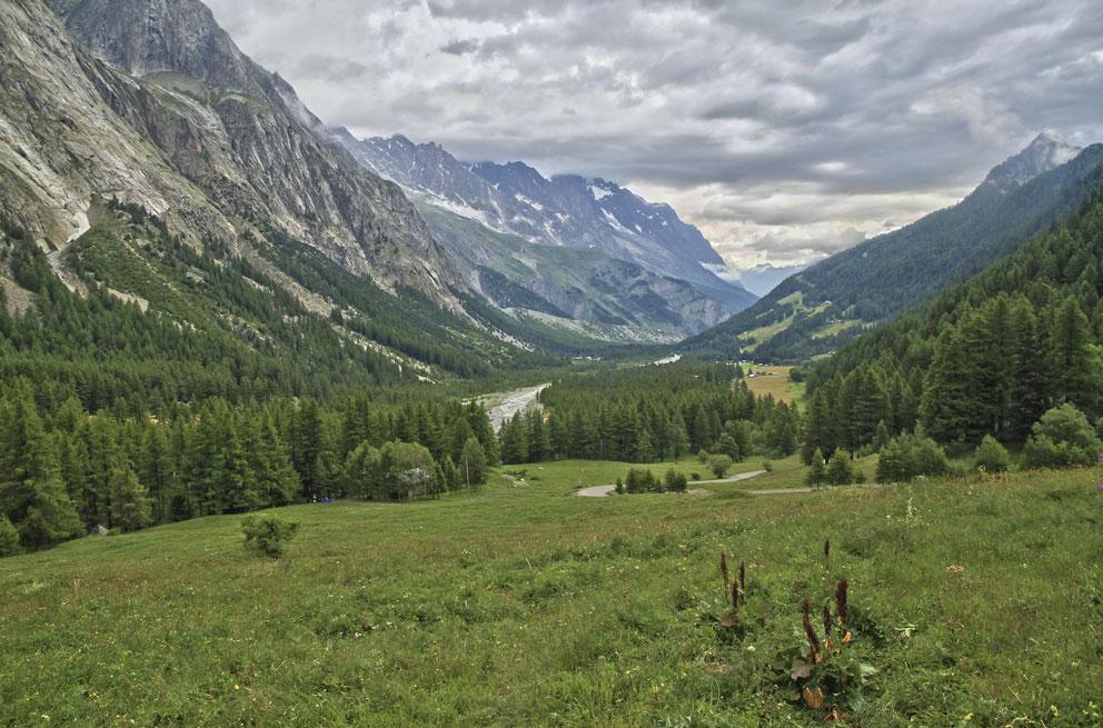 Val veny Courmayeur, Valle d'Aosta